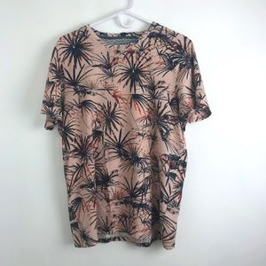 Ted Baker Cotton Palm Tree T-Shirt